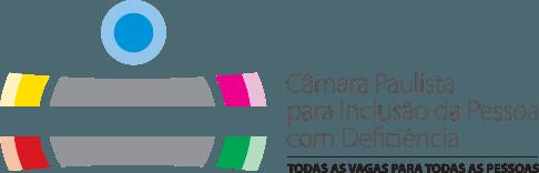 Logo da Câmara Paulista para Inclusão da Pessoa com Deficiência