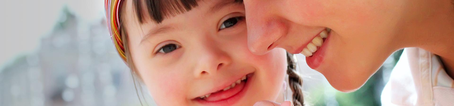 Criança com sindrome de down