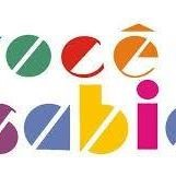 logomarca da página mostra letras coloridas formando parte da frase (v)ocê (s)abi(a)